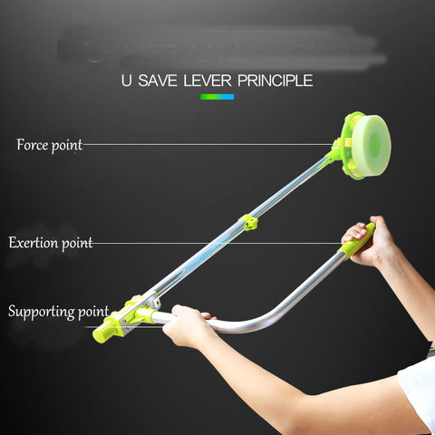 telescopic High-rise window dust/glass cleaner brush