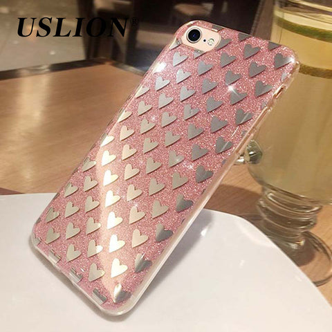 Luxury Glitter Phone Case For iPhone 7/7 plus 6/6s Plus 5 5s