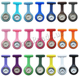 Nurses / Doctor Fob Watch Brooches Silicone