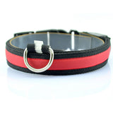 Nylon LED Pet Dog Collar Night Safety Anti-lost Flashing Glow