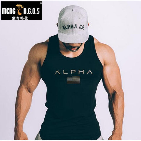2017 Men Summer Fitness Tank Top
