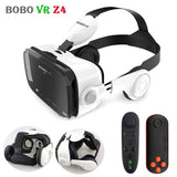BOBOVR Z4 Leather 3D Helmet VR