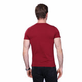 Summer Slim Fit Fashion Casual Patchwork Short Sleeve Top Tees