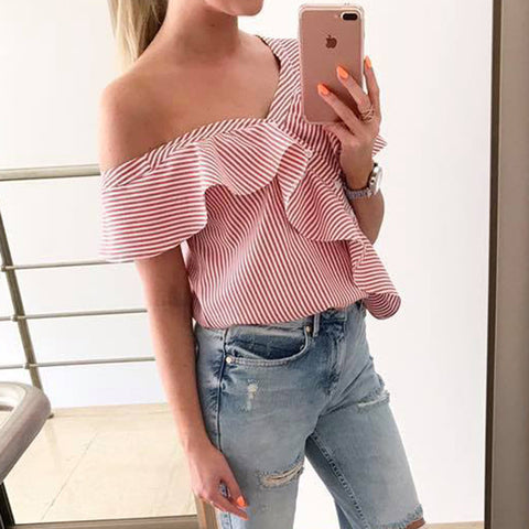 Summer Collection Off Shoulder Blouse