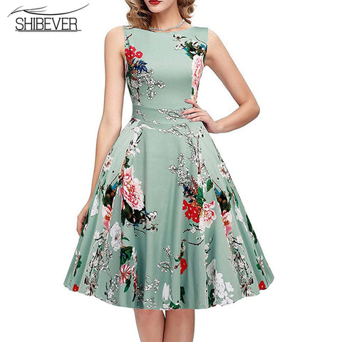 Elegant Casual Floral Fashion Summer Dresses