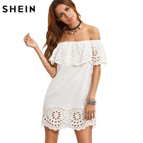 Women White Summer Beach Dresses