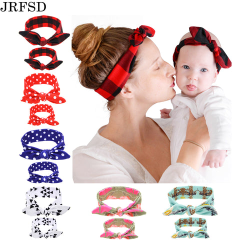 Mom Kid Set of Elastic Hair Bands