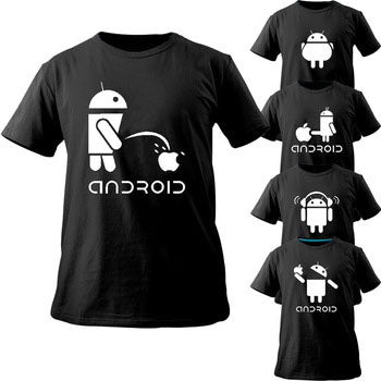 Creative Android unisex Tees