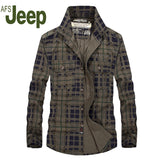 AFS JEEP 2016 Plaid The new autumn men's long sleeve