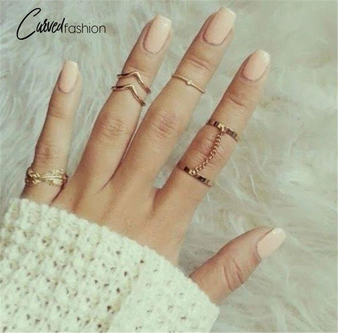 21 Unique Adjustable Ring Sets