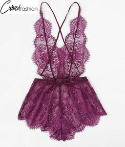 Lace Purple Sleepwear