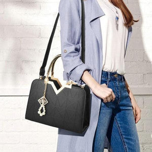 Summer Leather Shoulder and Cross body Bag