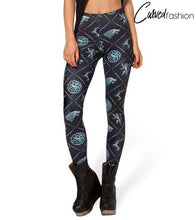 Game of Thrones Houses Leggings
