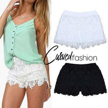 High Waist Lace Shorts