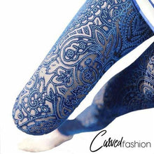 Carved Ornamental Leggings