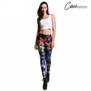 Colored Smoke Leggings