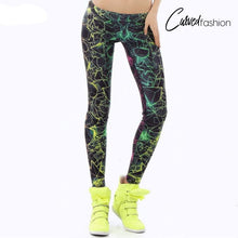 Fluorescence Rays Leggings