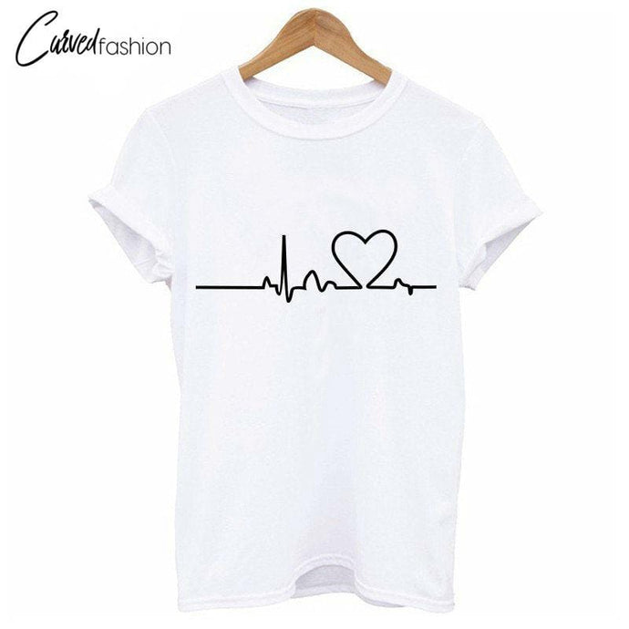 Love Heart Beat T-Shirt