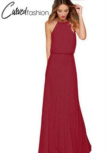Summer Evening Chiffon Long Dress
