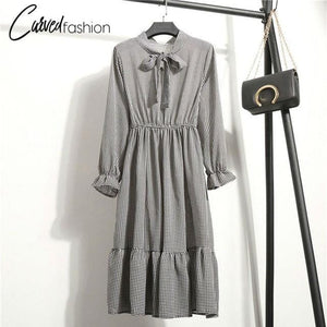 The Casual Long Chiffon Dress
