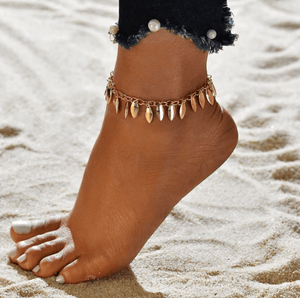 Boho Style Star Anklet Chain