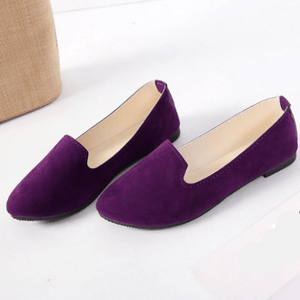 Plus Size Candy Color Loafers