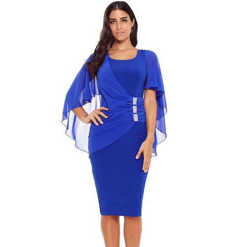 Bodycon Batwing Sleeve Pencil Oversize Dress