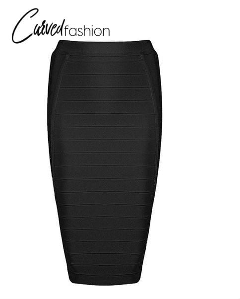 Pencil Bodycon Knee Length Skirt