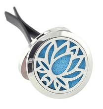 Lotus Flower Aromatherapy Car Diffuser Locket