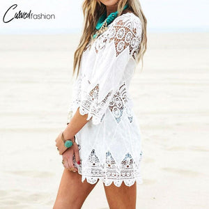 Floral Lace Short Summer Dress