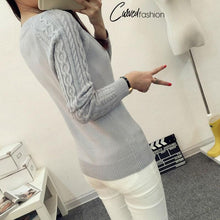 Autumn Style Knitted Long Sleeve Sweater