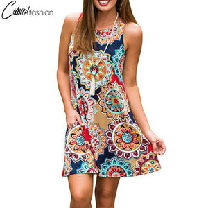 Bohemian Fresh Unique Designs Summer Dress