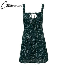 Chiffon Polka Dot Dress
