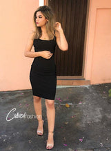 Bodycon Knee Length Sleeveless Dress