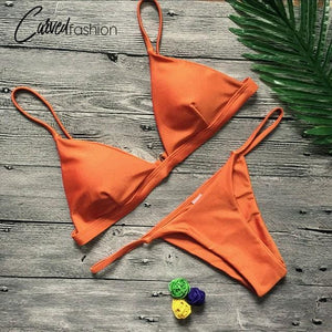 Swimsuits 2 Piece Beach Swimming Suits Push Up Bikini Sets