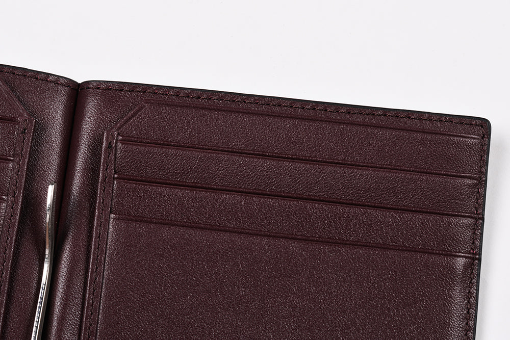Specter VT Bifold Wallet with Money Clip | Slim Leather Wallet
