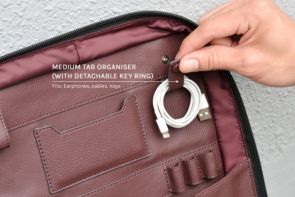 Medium tab organiser