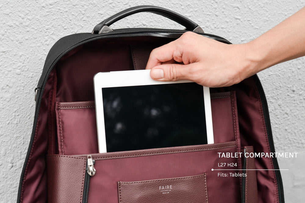 Tablet compartment