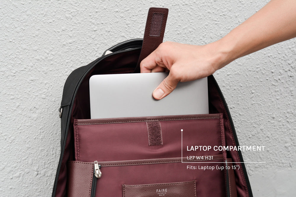 Laptop compartment