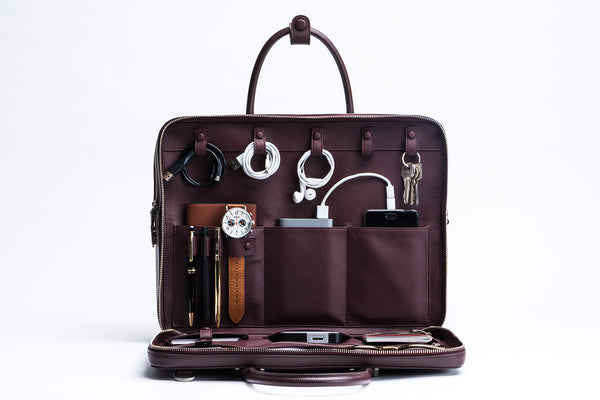 Bond CG Travel Briefcase (CG Burgundy) | Pre-Order