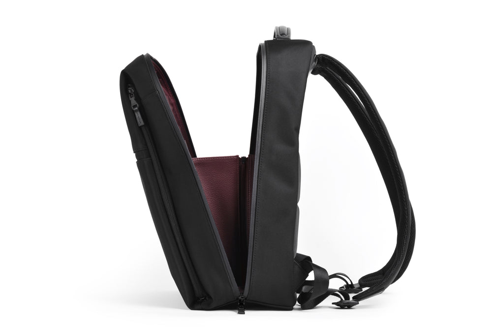 A gusset that holds your backpack up