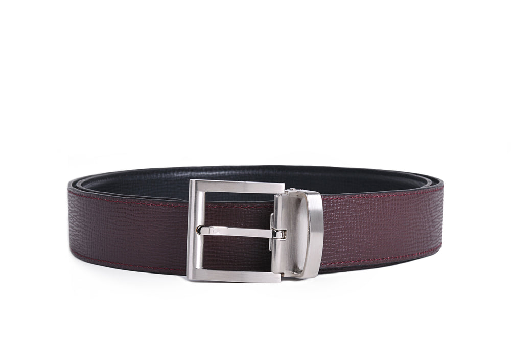 Simply remove the buckle and swap to our signature Burgundy to change your style for the day