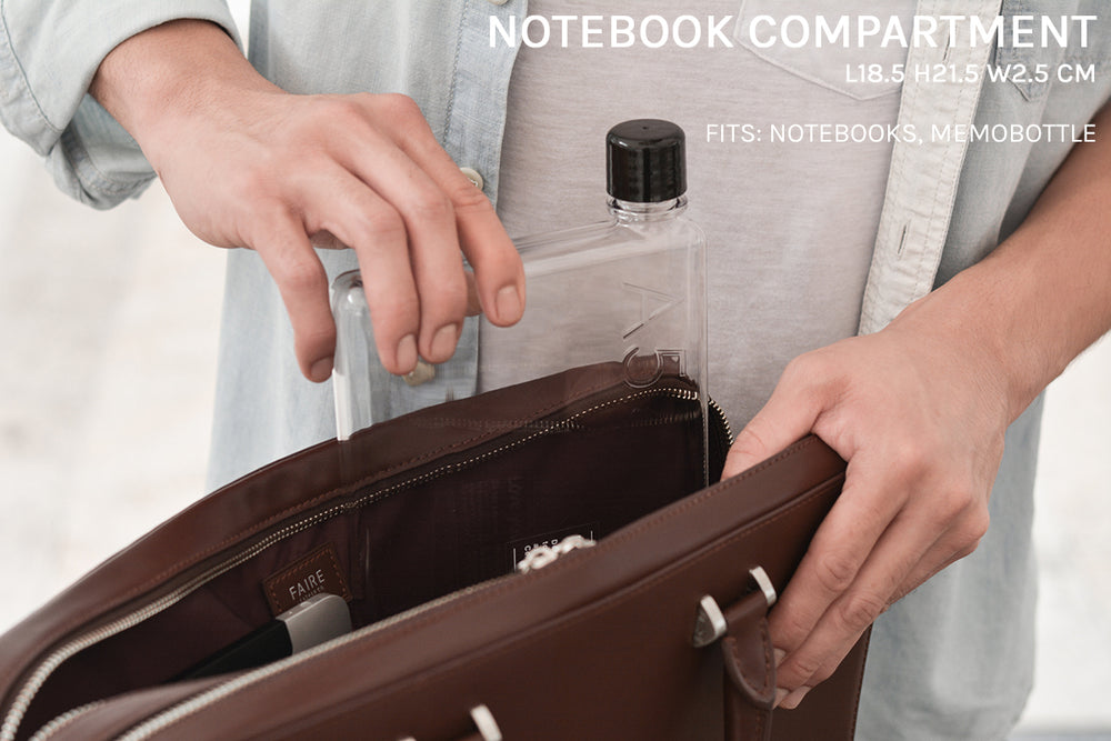 Notebook compartment