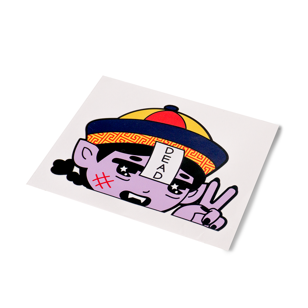 Jiangshi Car Decal Sticker