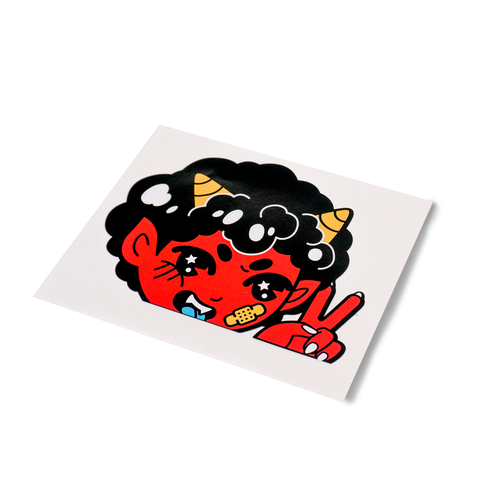 Oni Car Decal Sticker
