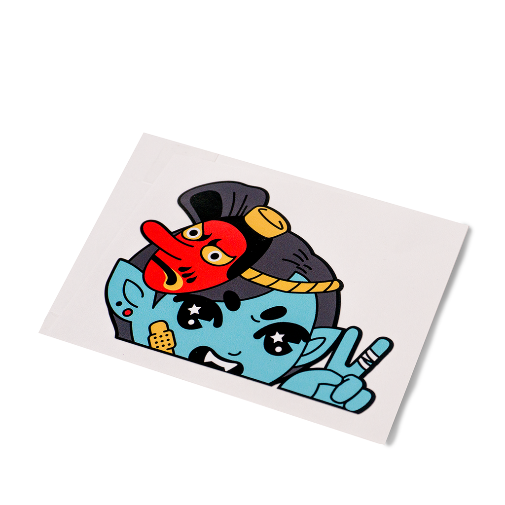 Tengu Car Decal Sticker