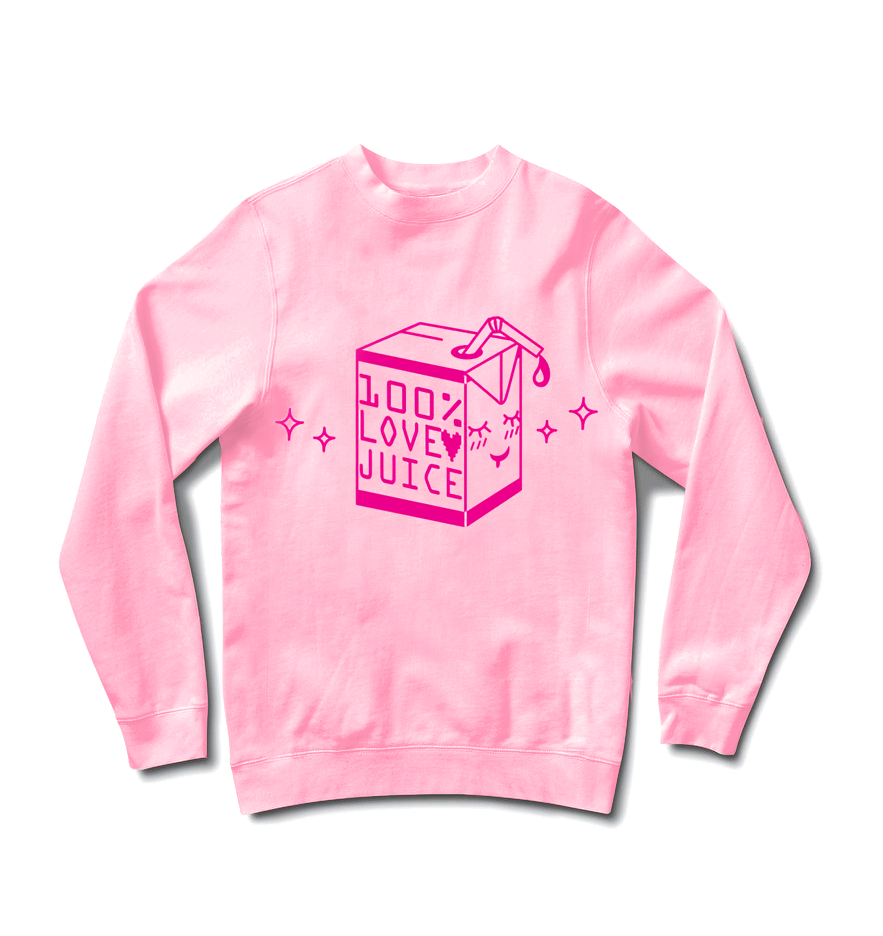 100% Love Juice Sweater