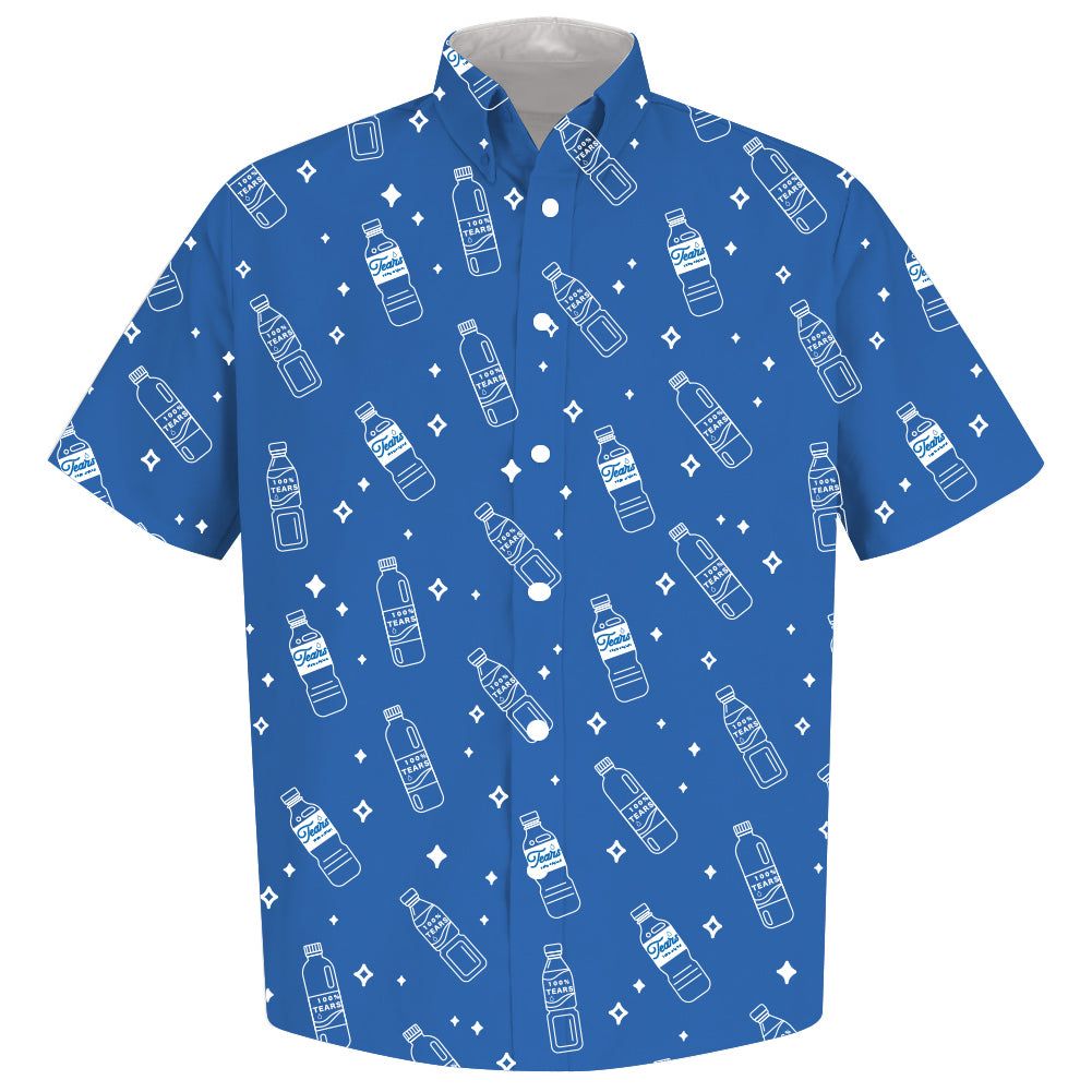 100% TEARS Button Up Shirt