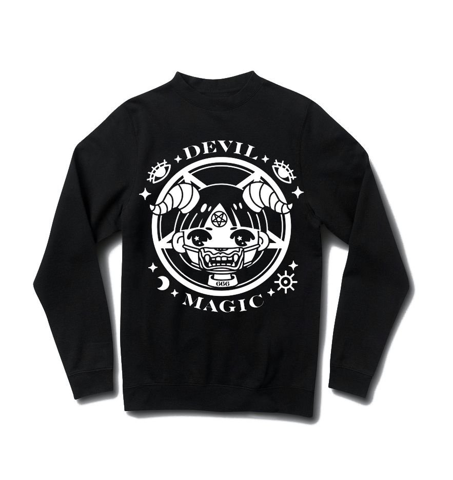 Devil Magic Sweater