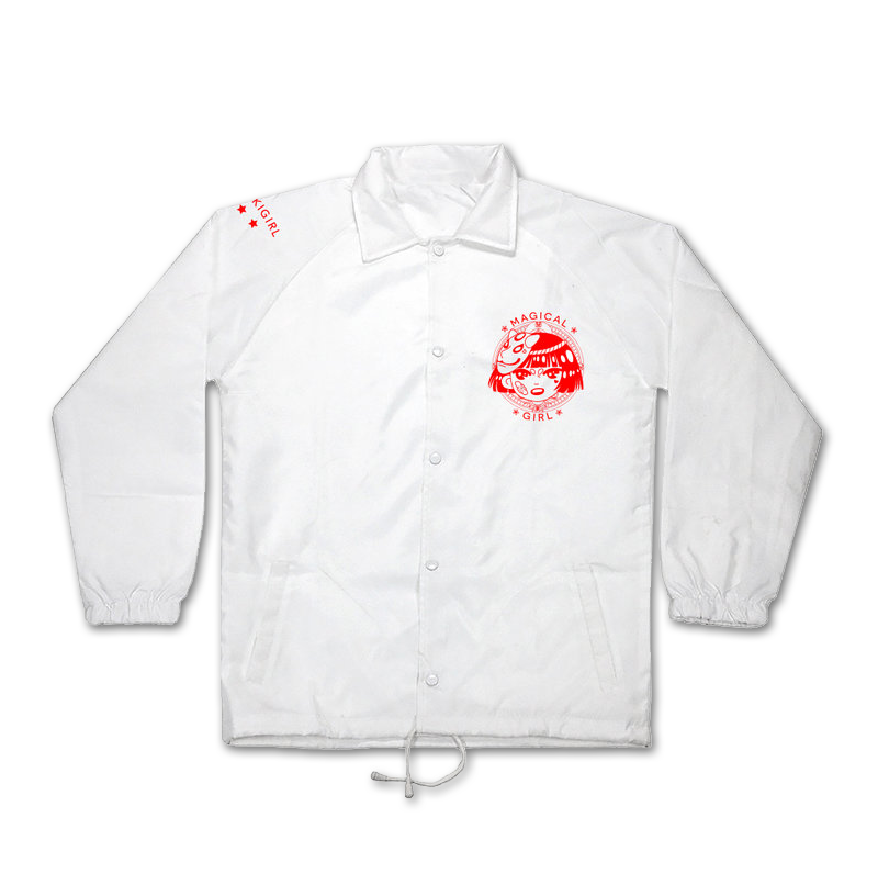 White Magical Girl Windbreaker